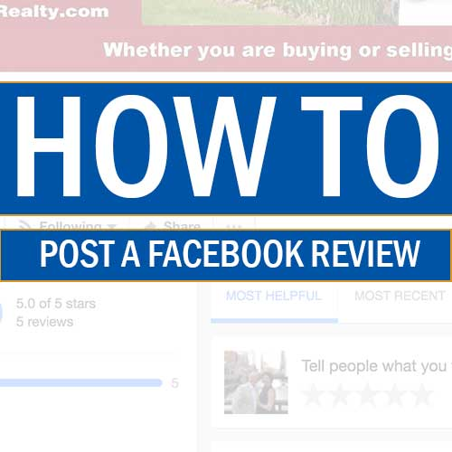 How to Write a Review on Facebook