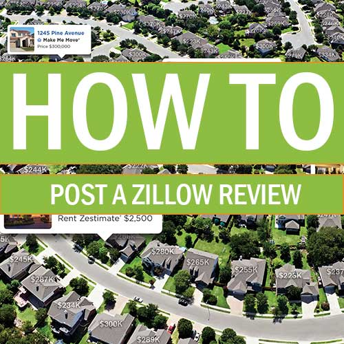 How to Post a review on Zillow.com